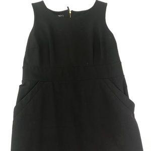 Stylish black stretch dress